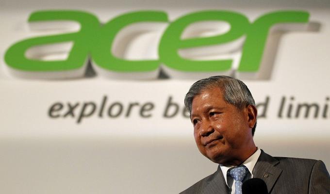 Acer sufre un desplome en su facturación
