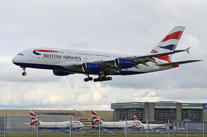 Airbus A380 British Airways