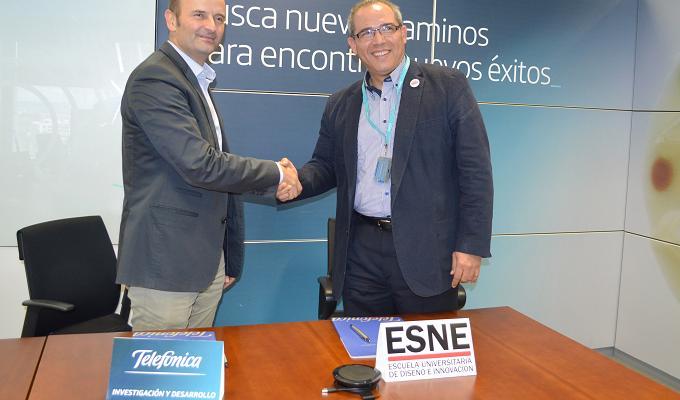 ESNE y Telefónica I+D crean el Máster Universitario en Experiencia de Usuario