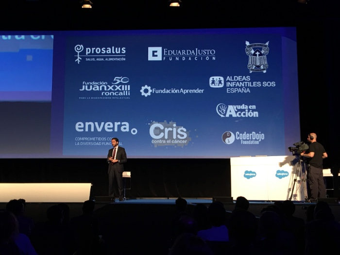 Essentials Madrid 2016 confirma el éxito de Salesforce con récord de asistentes