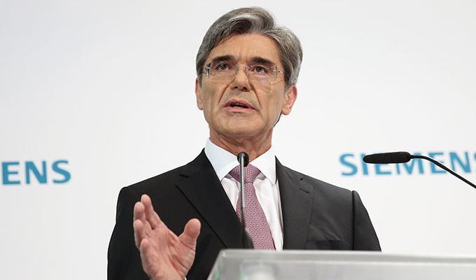 Siemens eleva sus ingresos en el segundo trimestre de 2016