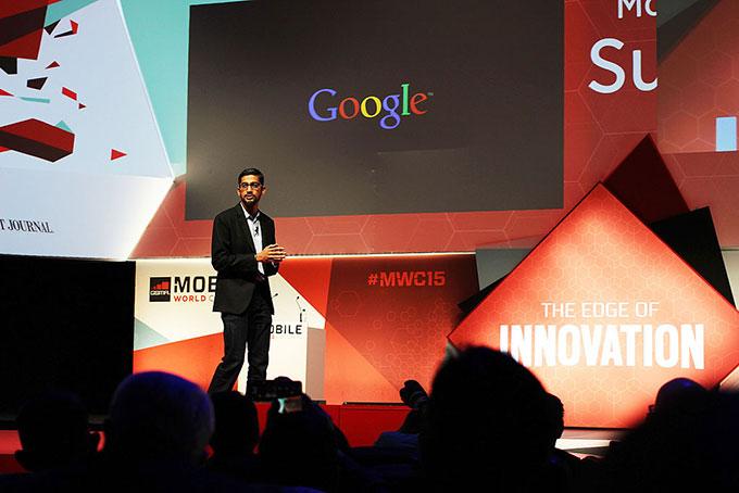 Sundar Pichai CEO de Google