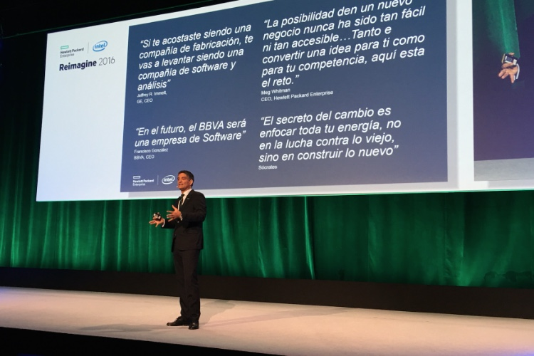 Reimagine 2016: Hewlett Packard Enterprise muestra el camino de la transformación digital