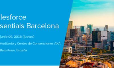 Salesforce Essentials Barcelona 2016 se celebra el próximo 9 de junio