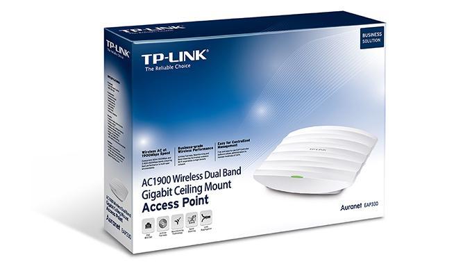 TP-LINK lanza su nuevo punto de acceso empresarial