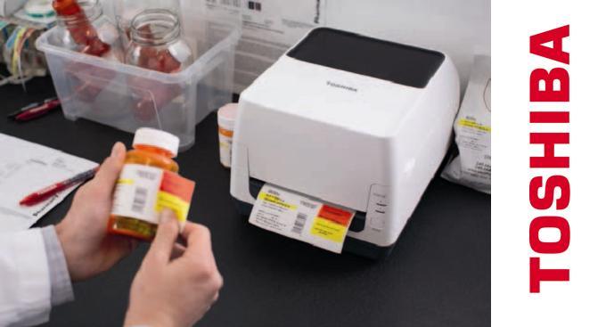 Toshiba mejora la identificación e impresión de productos sanitarios