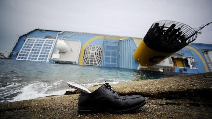abandono barco