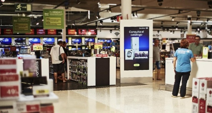 Carrefour digitaliza sus puntos de venta mediante Digital Signage