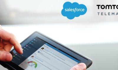 TomTom Telematics ha anunciado hoy el lanzamiento de WEBFLEET for Sales Cloud