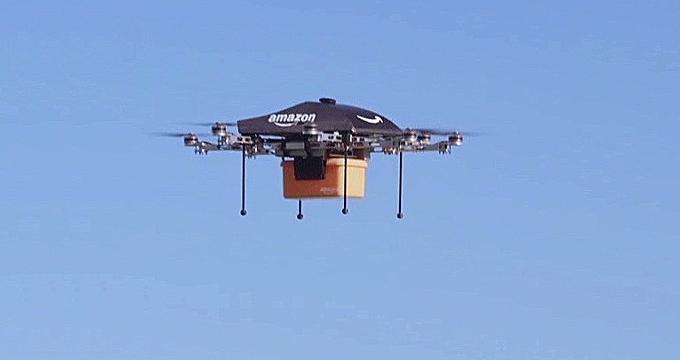 Amazon y el gobierno británico prueban las entregas con drones