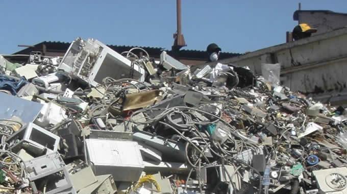 La basura electrónica es lo que más aumenta en España
