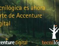 Accenture compra Tecnilógica para mejorar sus capacidades digitales