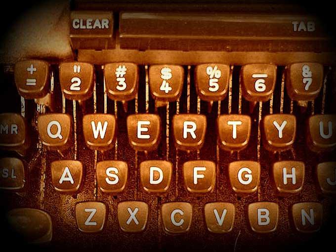 Máquina de escribir Qwerty