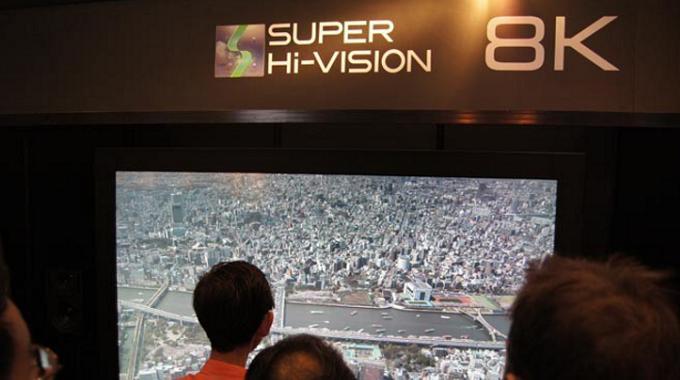 Panasonic y Sony se asocian para vender televisores 8K