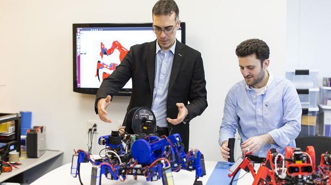 Siemens crea arañas robóticas para la impresión 3D