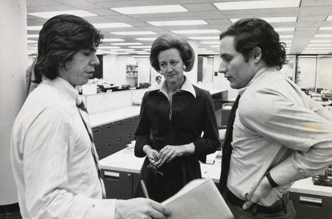 Woodward y Bernstein