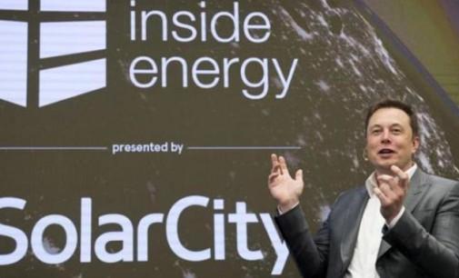 Musk dice que no necesitará fondos adicionales tras la compra de SolarCity en el Q1 de 2017