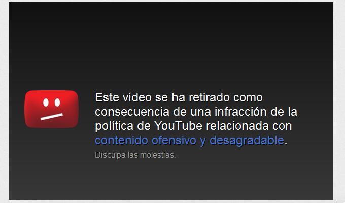 YouTube: Así funciona la denuncia de contenidos