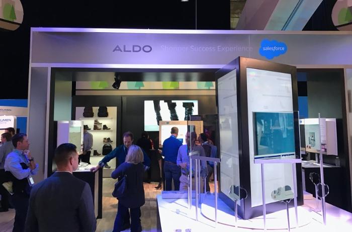 Aldo muestra en Dreamforce 2016 cómo será el futuro del retail con Salesforce