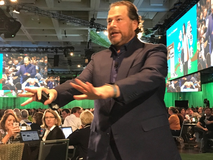 "Marc Benioff, CEO de Salesforce: ""Einstein es el data scientist de cada cliente"""