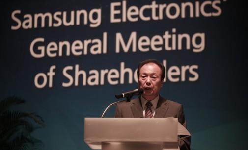 Samsung ingresa un 96% menos en móviles, en el último trimestre
