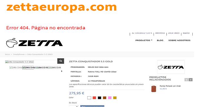 FACUA se suma a la denuncia por los móviles Zetta