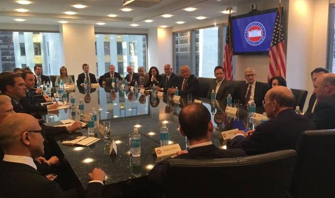 Reunión Donald Trump