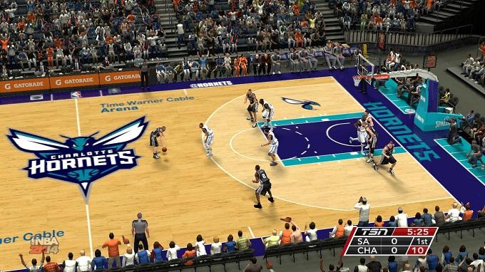 Charlotte Hornets de la NBA