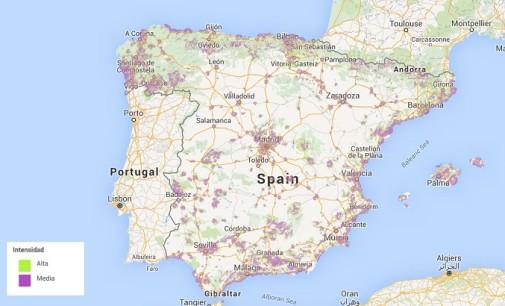 Más de 3,4 millones de españoles viven en zonas sin cobertura 4G