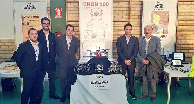 Estudiantes de mecánica desarrollan un dron para localizar minas antipersona