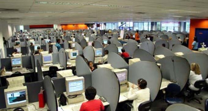 Los teleoperadores hacen hoy, de nuevo, huelga de 24 horas