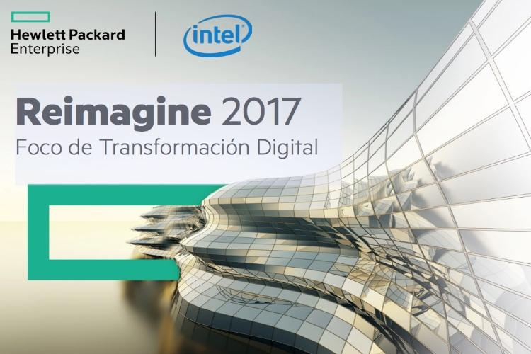 HPE e Intel desvelan la Plataforma Digital del Futuro en Reimagine 2017