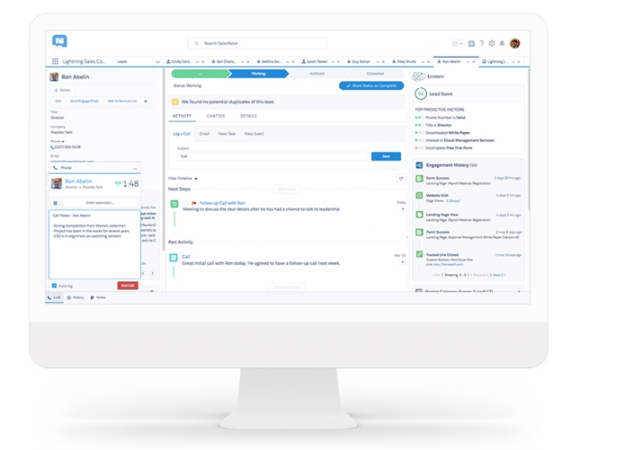 Salesforce Einstein High Velocity Sales Cloud