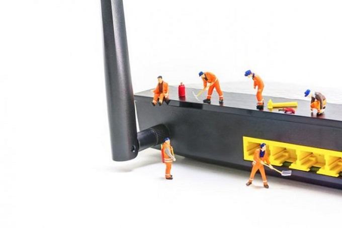 proteger el router