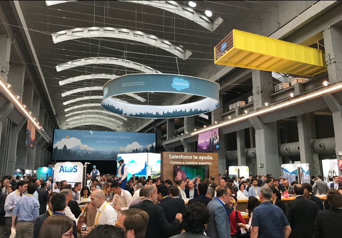 Salesforce Essentials Madrid 2017, innovación e inspiración en el evento Cloud del año