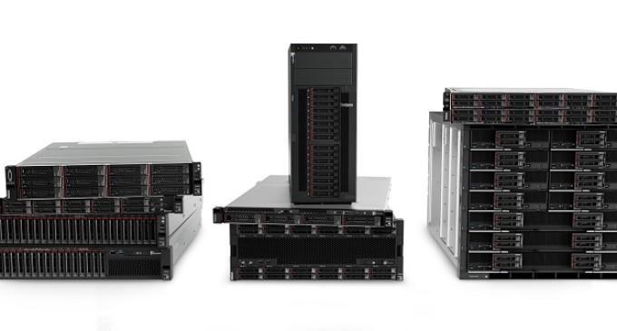 Lenovo renueva su cartera de productos para el data center