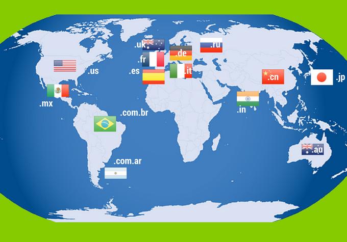 dominios geográficos