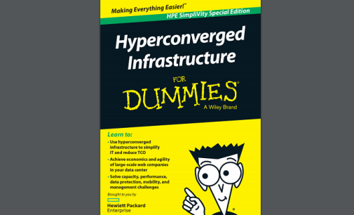"Ebook gratuito: ""Hiperconvergencia para dummies"""