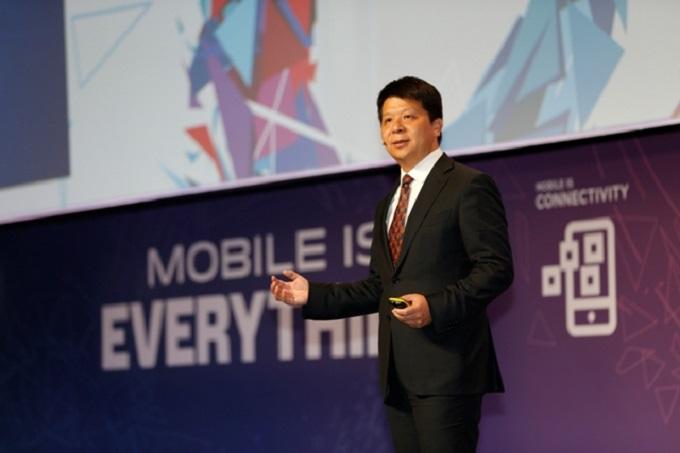 Guo Ping, CEO de Huawei