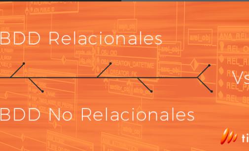 BBDD relacionales versus no relacionales (NoSQL)