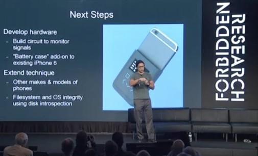 Introspection Engine, la funda de móvil inteligente diseñada por Snowden