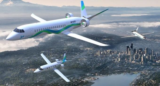 Los aviones eléctricos e híbridos llegarán en 2022