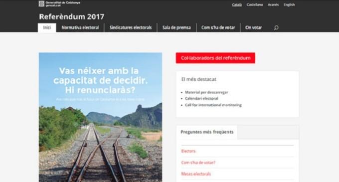La Generalitat expone los datos de cinco millones de catalanes
