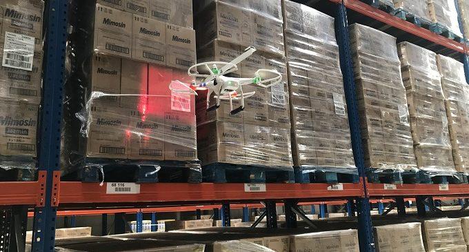 DHL incorpora drones en sus centros logísticos en España