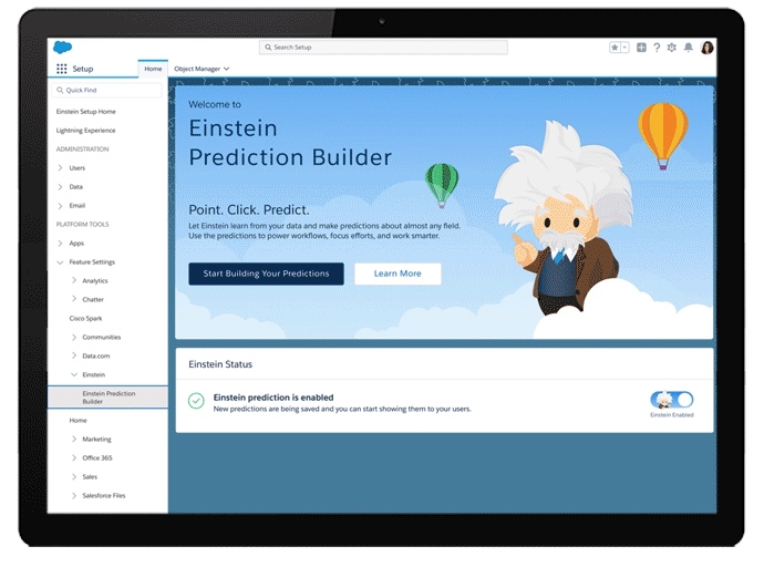 Einstein Prediction Builder
