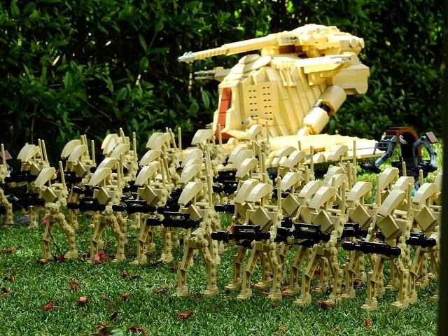 vhina hace avanzar a su ejército con Inteligencia Artificial