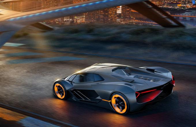 Lamborghini coche eléctrico
