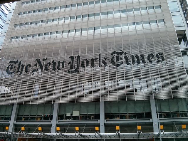 EL New York Times mas cerca de su objetivo de conseguir 800 millones anuales