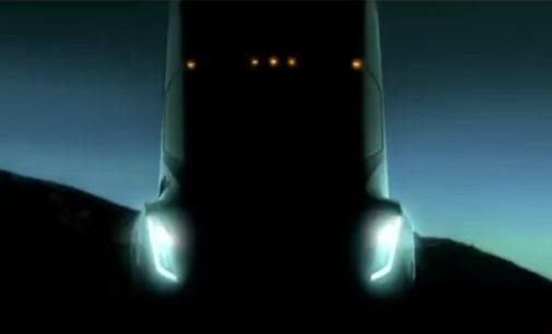 Detalles del Semi Truck, el camión autónomo de Tesla