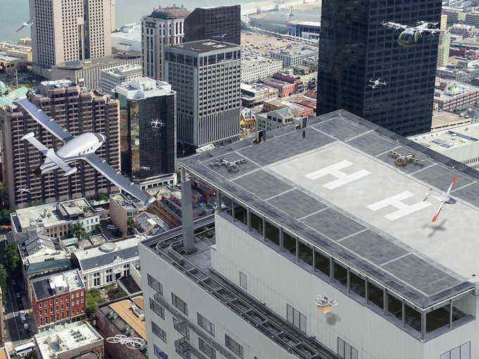 Uber ayudará a la NASA con su proyecto de taxis voladores